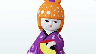 HAKATA DOLLS(彩) 紫