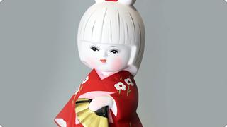 博多人形 献寿作 ロマンシリーズ
