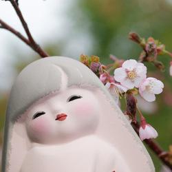 後藤博多人形 花はな 桜